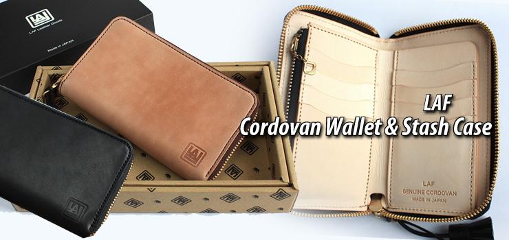 LAF - Cordovan Wallet & Stash Case