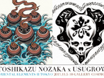 """TOSHIKAZU NOZAKA x USUGROW Exhibition """"ORIENTAL ELEMENTS 2 TOKYO"""" 2013.11.5(tue) – 11.10(sun) at GALLERY COMMON"""