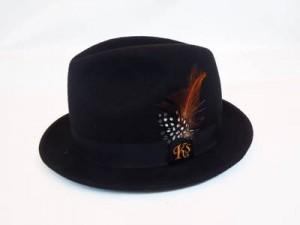 """KSHT1208 """"Ks FEATHER"""" HAT"""