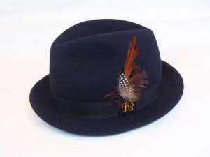 "KSHT1208 ""Ks FEATHER"" HAT"