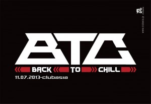 Back To Chill - 2013.11.07 (木) at clubasia