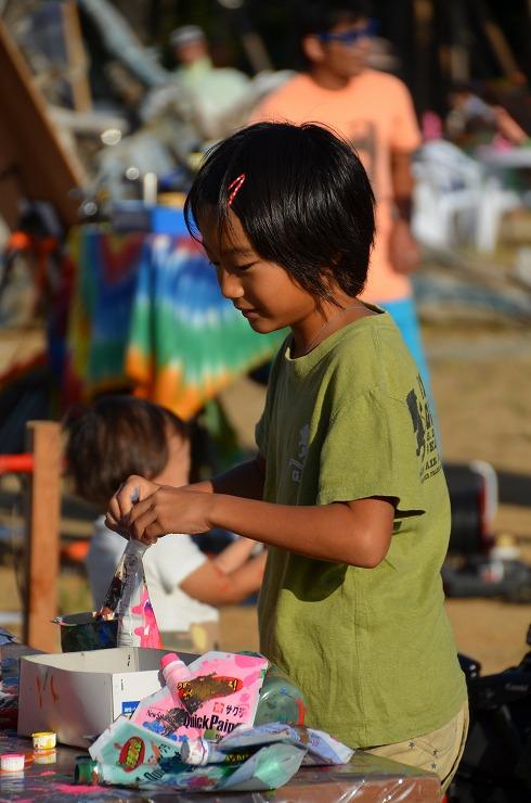 海鳴 uminari アートフェスティバル 2013/10/12(sat) 13(sun) at 田原市谷の口 ほうべの森キャンプ場 REPORT