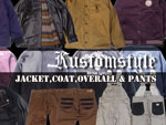 KUSTOMSTYLE - JACKET・COAT・OVERALL & PANTS / A-FILES オルタナティヴ ストリートカルチャー ウェブマガジン