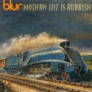 blur - 2nd アルバム『モダン・ライフ・イズ・ラビッシュ』