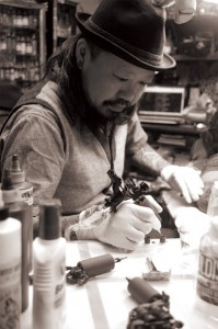 TAKAYUKI from SLAP STICK TATTOO INTERVIEW