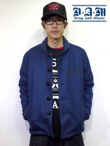 Button PHARAOH JKT (Black/Navy/Burgundy)