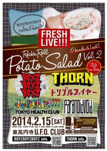 Rock'n Roll POTATO SALAD vol.02 - 2014.02.15 at 東高円寺U.F.O CLUB