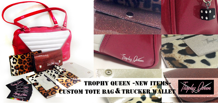 Trophy Queen - New Items (Custom Tote Bag & Trucker Wallet)