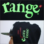range×EXTRA ISSUE 15TH コラボ パーカー
