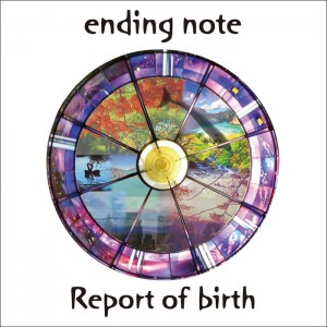 ending note - Mini Album 『Report of birth』