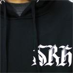 SRH プルオーバーパーカー WEST SIDE 黒 【RCP】