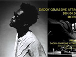DADDY G(MASSIVE ATTACK DJ SET) JAPAN TOUR 2014 – 4/4(Fri) 表参道ORIGAMI / 4/5(Sat) 大阪STUDIO PARTITA