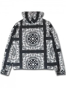 "KSLWJ1402 ""LA COCA BANDANA"" LIGHT WEIGHT HOODED JACKET"