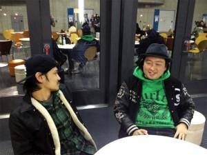 SATO-BOY(SUNSET BUS)、MOPPY(CAFFEINE BOMB RECORDS) Interview