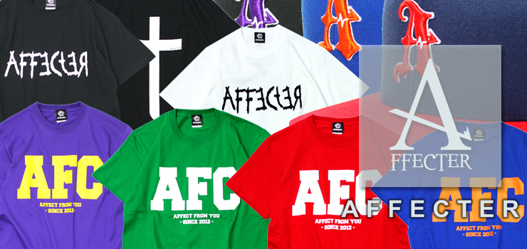 AFFECTER - T-shirts & CAP