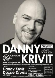 DANNY KRIVIT JAPAN TOUR 2014 - 2014.05.02(Fri) at 表参道ORIGAMI
