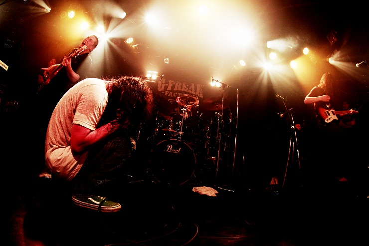 "G-FREAK FACTORY  ""S.O.S"" TOUR 2013-2014 FINAL 2014.03.29 at Shibuya eggman 【LIVE REPORT】"