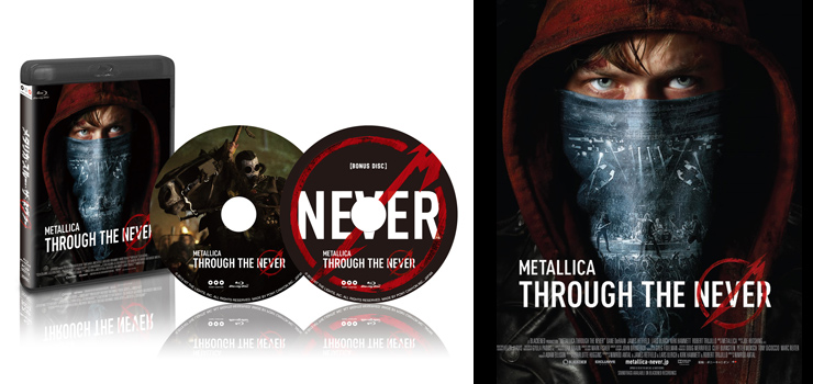 METALLICA - Blu-ray,DVD & アルティメットエディション 『THROUGH THE NEVER』 Release