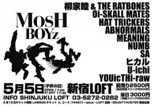 MOSH BOYZ 2014.05.05(mon) at 新宿LOFT