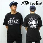 SRH x Deviluse コラボTシャツ 黒