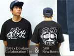 SRH x Deviluse Collaboration Tee & SRH New Items (タンクトップ、ウォークショーツ)