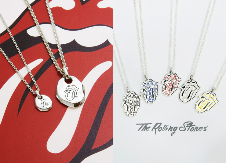 GARNI × The Rolling Stones - Tongue & Lips Pendant