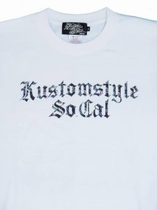 """14SS KUSTOMSTYLE KST1410WH """"FLORAL"""" Tシャツ"""