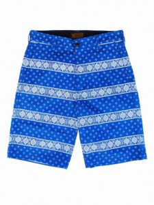 "BANDANA LINE"" SHORT PANTS"