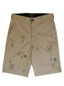 TATTOO FLASH SHORTS