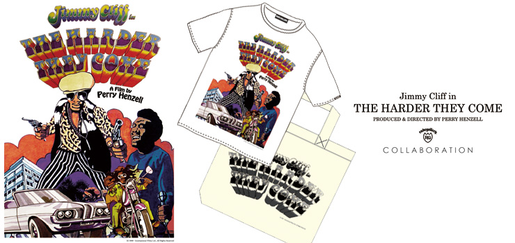 THE HARDER THEY COME x RUDE GALLERY コラボレーションTシャツ & トーとバッグ