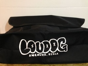 LOU DOG MESSENGER BAG