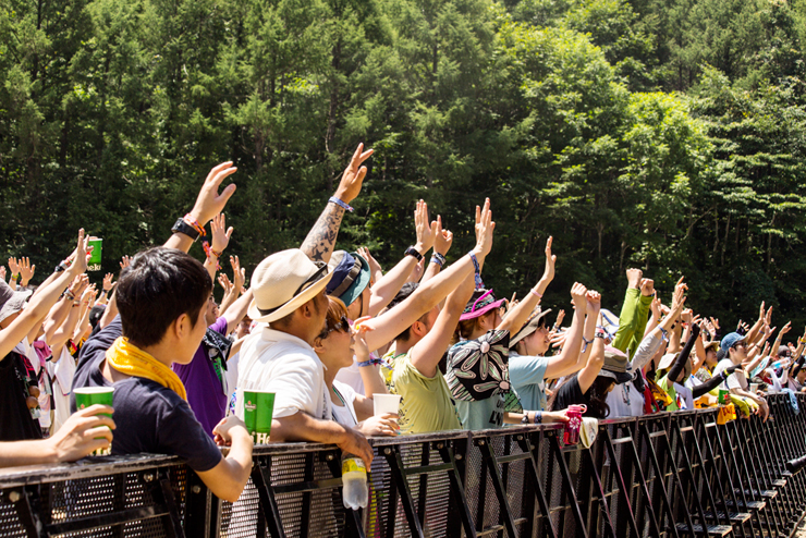 G-FREAK FACTORY @ FUJI ROCK FESTIVAL '14 LIVE REPORT