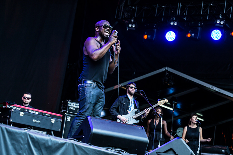 THE HEAVY @ FUJI ROCK FESTIVAL '14 LIVE REPORT