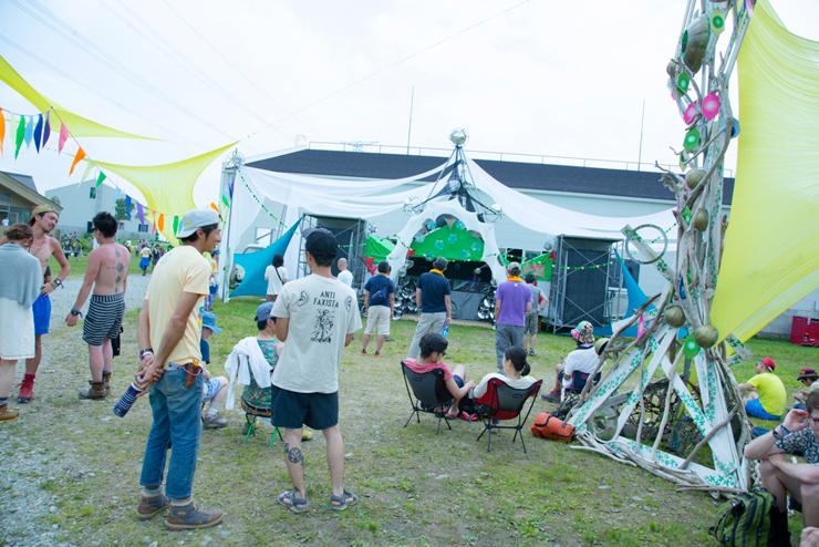 MIXMASTER MORRIS~day dreaming~ @ FUJI ROCK FESTIVAL '14 LIVE REPORT