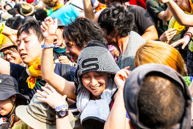 THE QEMISTS @ FUJI ROCK FESTIVAL '14 LIVE REPORT