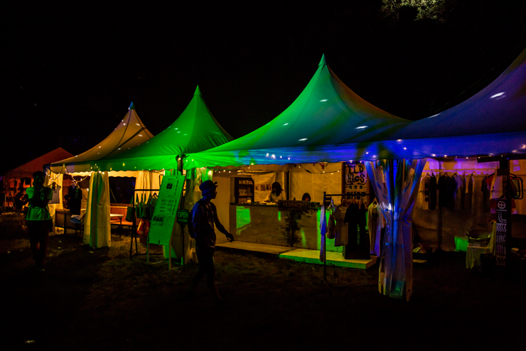 Steve Hillage(System 7) and 勝井祐二(ROVO)~PYRAMID GARDEN~ @ FUJI ROCK FESTIVAL '14 LIVE REPORT