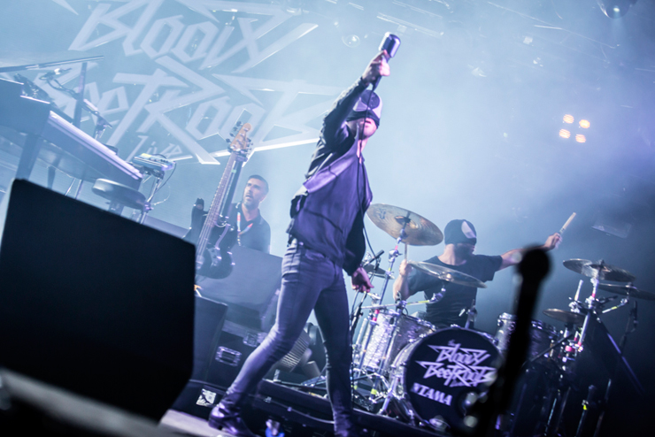 The Bloody Beetroots~TRIBAL CIRCUS~ @ FUJI ROCK FESTIVAL '14 LIVE REPORT