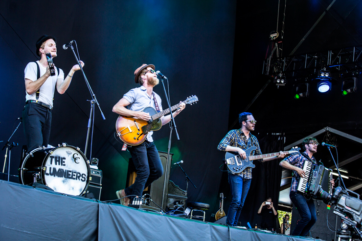 THE LUMINEERS @ FUJI ROCK FESTIVAL '14 LIVE REPORT