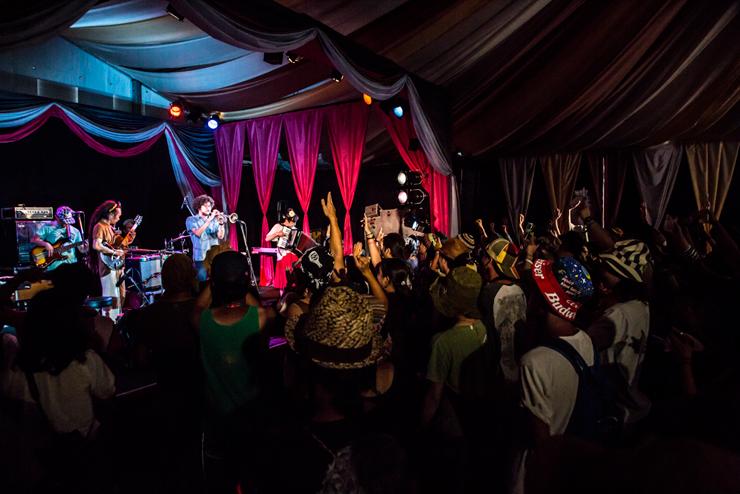 光風&GREEN MASSIVE @ FUJI ROCK FESTIVAL '14 LIVE REPORT