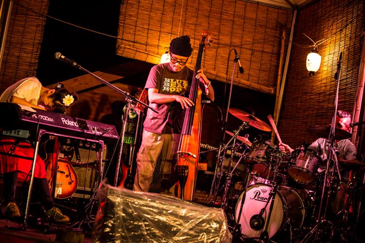 ERI KONISHI PIANO TRIO @ FUJI ROCK FESTIVAL '14 LIVE REPORT
