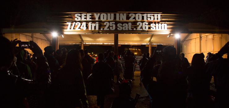 FUJI ROCK FESTIVAL '14 (Reported by kenichi kono)