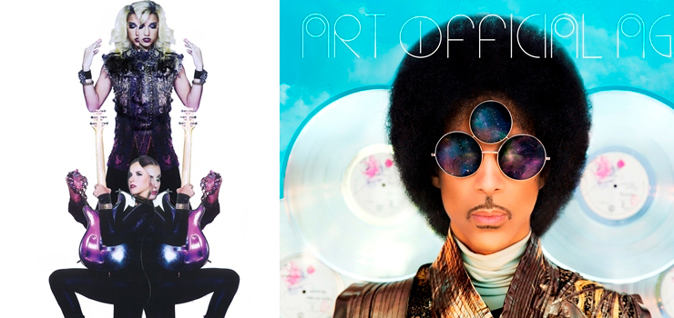 Prince - New Album 『ART OFFICIAL AGE』 / PRINCE & 3RDEYEGIRL - New Album 『PLECTRUM ELECTRUM』 2枚同時リリース!