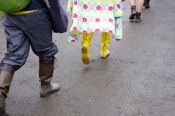 特集:フジロック・レインブーツ(長靴) @ FUJI ROCK FESTIVAL '14
