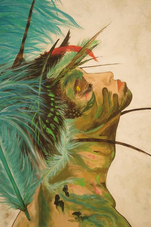 ayanicoco (Ayaka Kagami) exhibition「Decorated Skin」