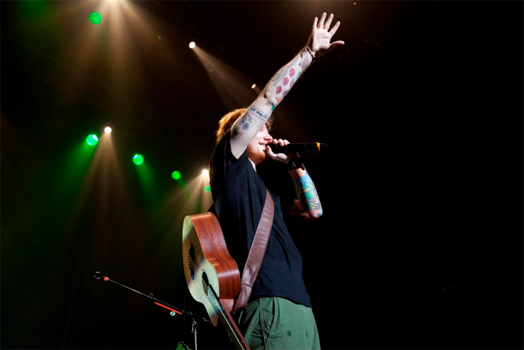 Ed Sheeran – 日本公演 2014/08/08 at 新木場studio coast ~LIVEREPORT~