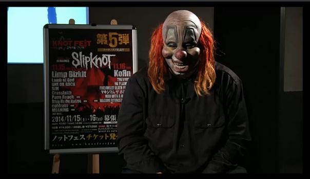 SLIPKNOT - #6クラウンニコ生生出演!
