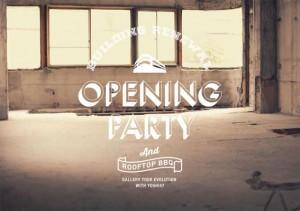 東報エージェンシー立川支社 新社屋 パブリックスペースの公開 OPENING PARTY 2014年8月22日(金)