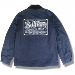 BELLFLOWER - PAINT SHOP SIGN INDIGO DENIM JACKET