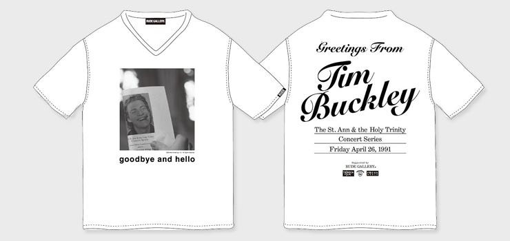 GOODBYE AND HELLO x RUDE GALLERY コラボレーションTシャツ