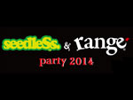 seedleSs & range PARTY 2014 – 3都市6会場で開催!【10/18(土)名古屋、10/19(日)大阪、11/2(日)東京】